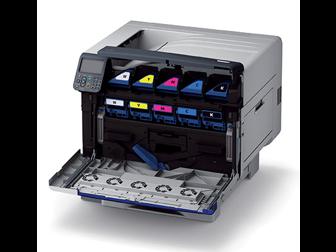oki pro9541dn laserdrucker a3 farbe f r den grafischen bereich. Black Bedroom Furniture Sets. Home Design Ideas