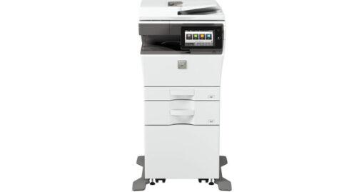 Sharp MX-C303W-Front-mit-2-Kassetten