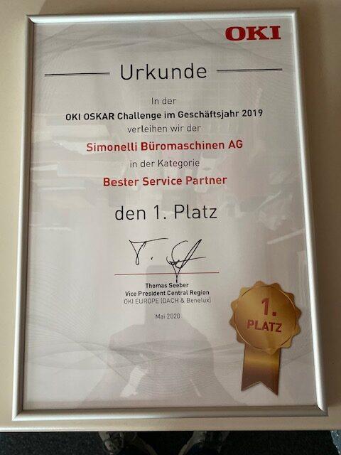 OKI Bester Service Partner